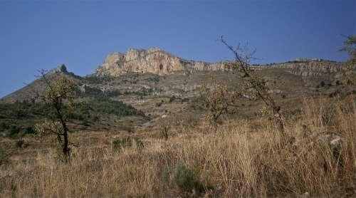 Mountain Landscape Jijona Nature