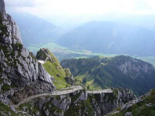 Mountain Wendelstein Rock