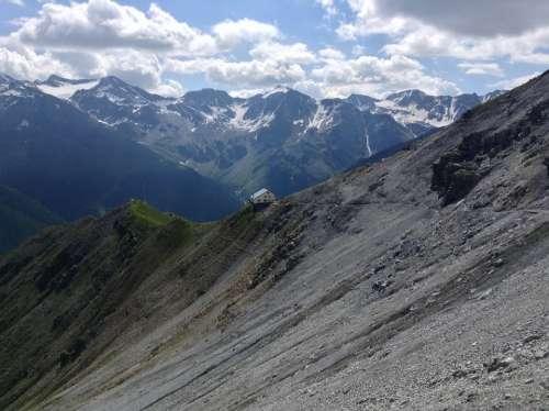 Mountain Hut View Tabarettahuette Solda