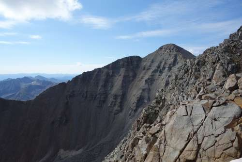 Mountain Colorado Nature Outdoors Fourteener