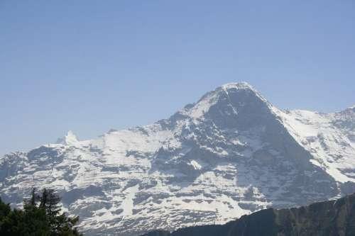 Mountain Swiss Alps Switzerland Landscape Sky