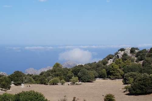 Mountain Clouds Sky Landscape Mountains Mood
