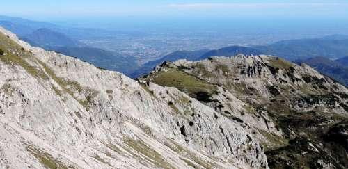 Mountain Alps Landscape Carega Plain Po Veneto