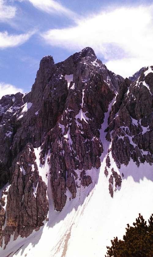 Mountain Peak Snow Summit Top Climbing Outdoor
