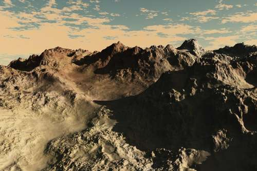 Mountain Nature Desert Erosion Rocks Dry Hot