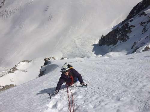 Mountain Snow Mont Blanc Mountaineering