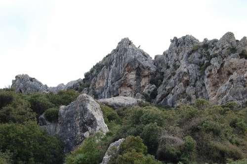 Mountain Landscape Pollença Mountains