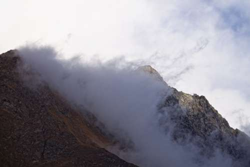 Mountains Mountain World Fog Light Landscape