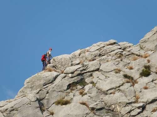 Mountains Climbing Croatia Omiś Rocks