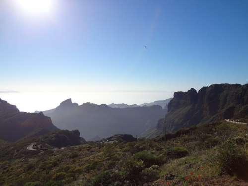 Mountains Tenerife Sun
