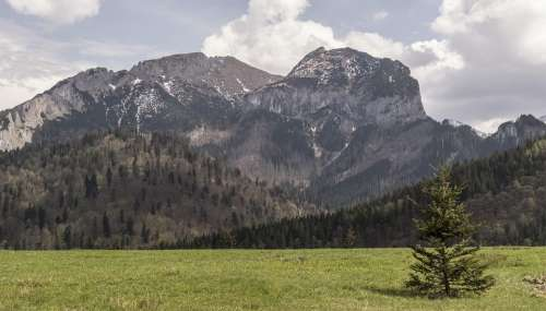 Mountains Tatry Nature Top Poland Hill Scenery