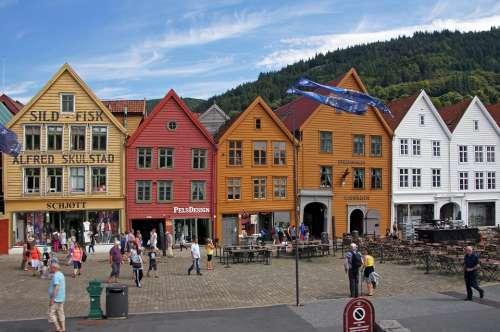 Mountains Norway Scandinavia Travel