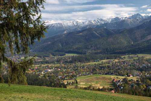 Mountains Tatry Polish Tatras View Of Zakopane