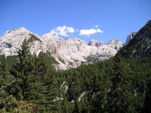 Mountains Alpine Brenta Italy