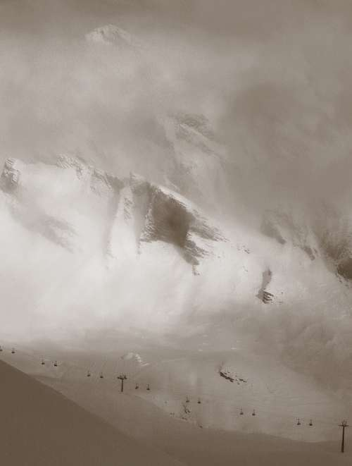 Mountains Mountain Switzerland Alpine Snow Fog