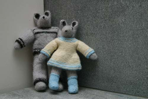 Mouse Knitting Pattern Grandma The Mother Of Craft