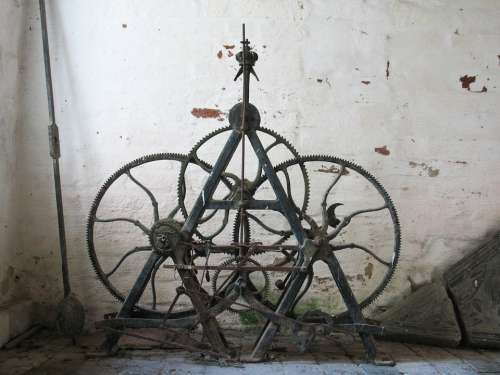 Movement Old Clock Antique Nostalgia Ancient View