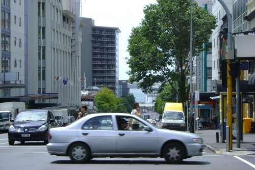 Movement Driving Walking Streetlife Car City