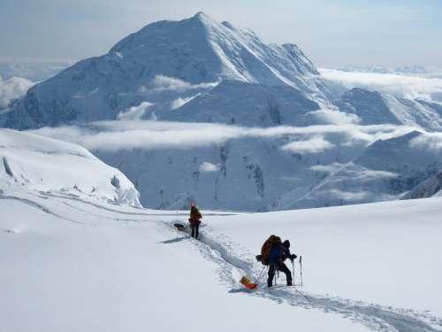 Mt Foraker Expedition Alaska Denali Mountain Snow