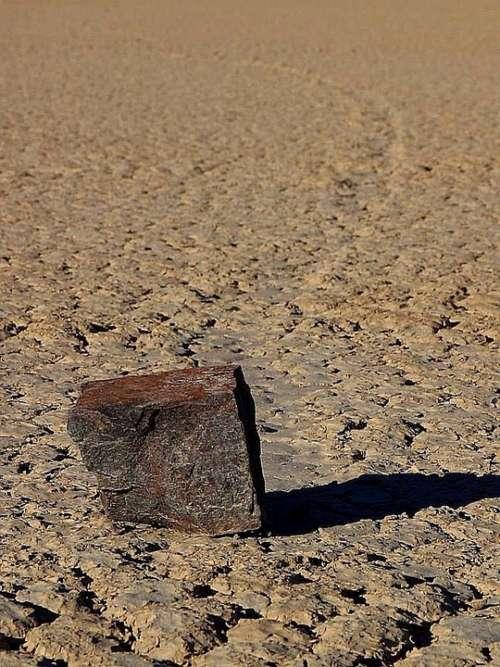 Mud Sliding Beach Racetrack Stones Rock