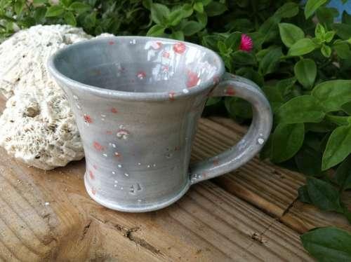 Mug Ceramic Cup Earthenware Pottery Thrown