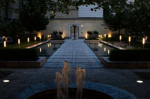Munich Residence Cabinet Garden