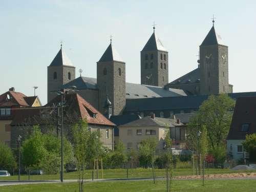Münsterschwarzach Abbey Lower Franconia