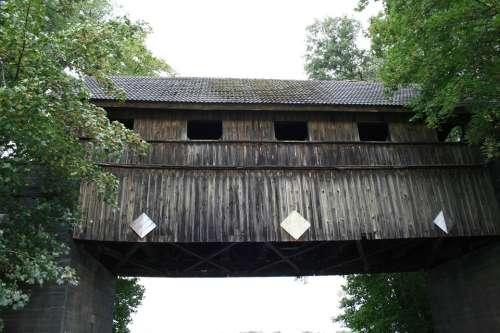 Müritz Wooden Bridge Historically
