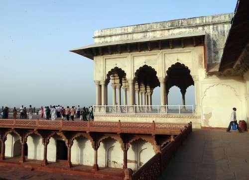 Musamman Burj Agra Fort Architecture Fort Heritage