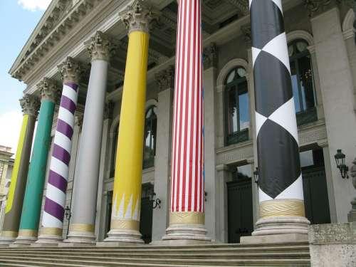 Museum Munich Columnar Art