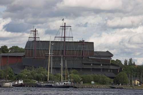 Museum Stockholm Sweden Iron Building