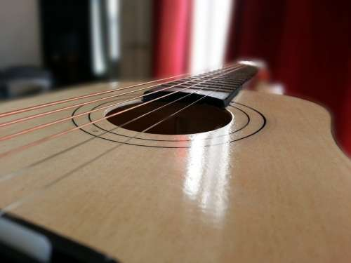 Music Guitar Musical Instrument Sound Melody Tune