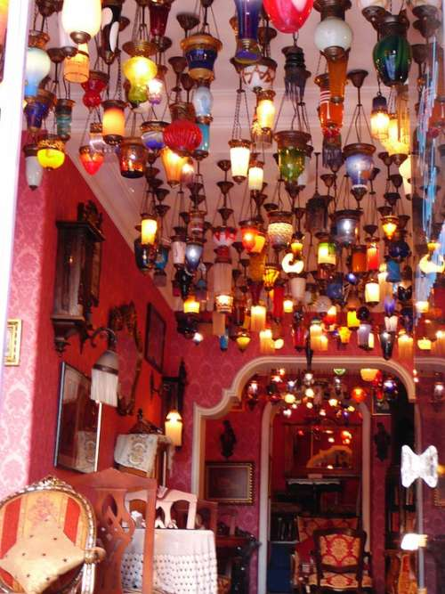 Music Lamps Business Istanbul Turkey Orient