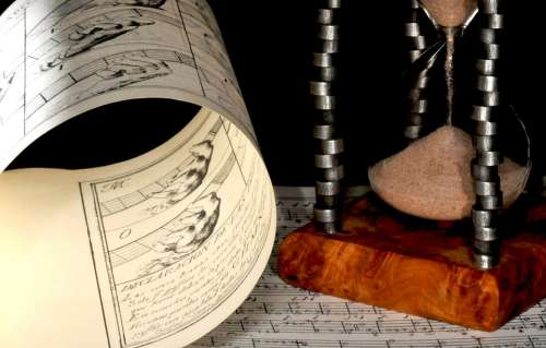 Music Tablature Guitar Time Paper Object Notation