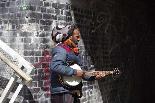 Musician Music Instrument Musical Busker Street