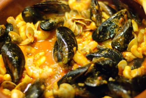 Mussels Seafood Shellfish Food Cuisine Shell Fish