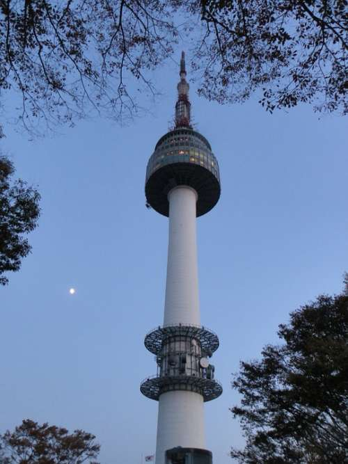Namsan Tower Seoul Republic Of Korea Korea