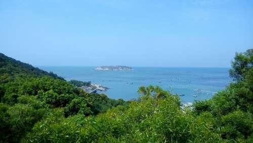 Nan Ao Island Aquaculture Blue Sea Reef