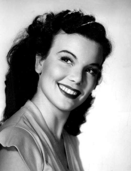 Nanette Fabray Actress Dancer Singer Vaudeville