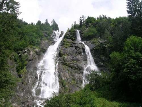 Nardis Waterfalls Italy Trentino