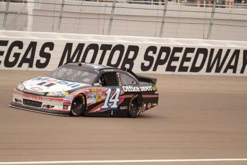 Nascar Tony Stewart Las Vegas Motor Speedway