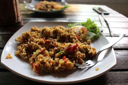 Nasi Goreng Nasi Goreng Fried Rice Food Dish
