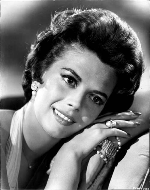 Natalie Wood Actress Vintage Movies Motion Pictures