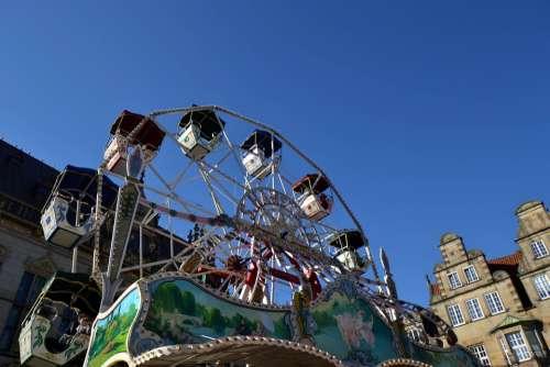 National Fixed Fair Carousel Fun Year Market