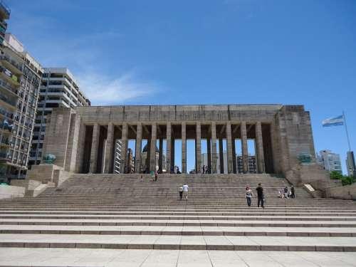 National Flag Memorial Argentina Rosario America