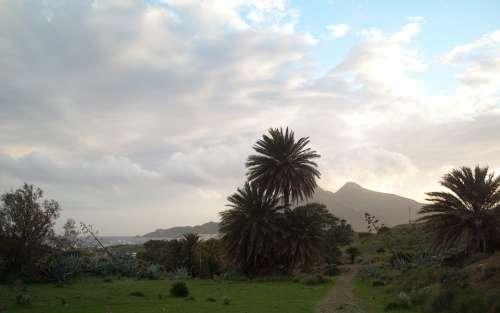 National Park Cabo De Gata Spain Sea Bay Rest