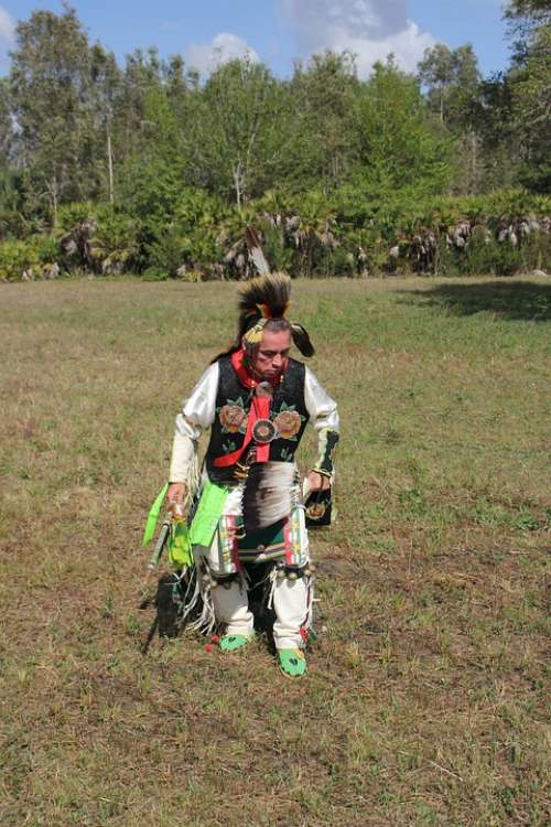 Native American Dancer Costume American West