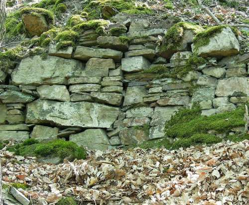 Nature Stones Natural Stones Stone Wall Old