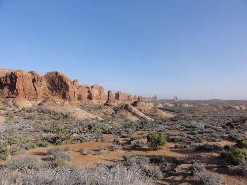 Nature Landscape Outdoor Desert Natural