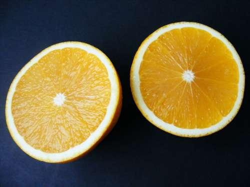 Nature Fruits Vegetables Orange Ornage Cut